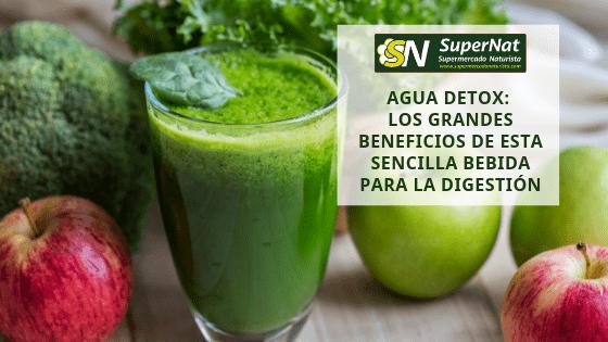Agua Detox: Los Grandes Beneficios De Esta Sencilla Bebida Para La Digestión